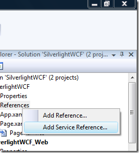 silverlight-add-service-reference