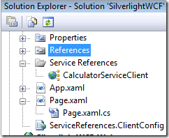 silverlight-added-wcf-reference-files
